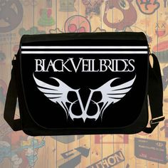 NEW HOT!!! Black Veil Brides Messenger Bag, Laptop Bag, School Bag, Sling Bag for Gifts & Fans #02