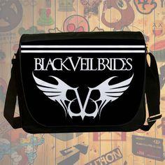 NEW HOT!!! Black Veil Brides Messenger Bag, Laptop Bag, School Bag, Sling Bag for Gifts & Fans #02