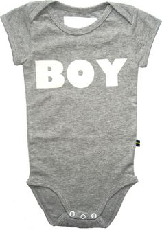 Baby bodysuit from the Swedish fashion label The Brand