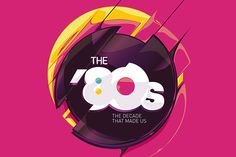 National Geographic - 80s the Decade that Made Us by Adhemas Batista, via Behance