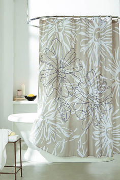 DKNY City Garden Shower Curtain / DonnaKaranHome.com