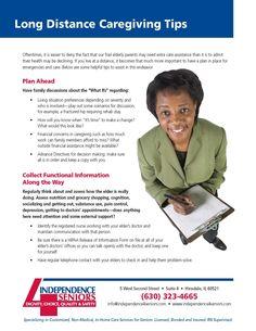 Long Distance Caregiving Tips #caregivers #homecare #tips