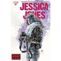 Jessica Jones (2016-) #4 Written by Brian Michael Bendis Art by Michael Gaydos Cover by David Mack Jessica Jones latest case has revealed a new hidden evil in the Marvel Universe. An evil so terrifying she was willing to rip her family apart to save them from it. But was the sacrifice enough? Another all-new blistering chapter of Marvel's premier detective.