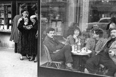 St Germain des Près, Cartier Bresson, 1958