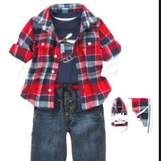 Baby Boy Fashion - From Gymboree Helicopter Winter line.