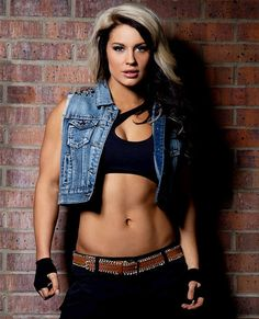 WWE Diva Kaitlyn She is my favorite Diva , I love her rocker chick persona , she's also a great wrestler and entertainer ! love love love Her !