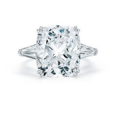 OMG!!!!!!  This is stunning....2 CT cushion cut diamond engagement ring.