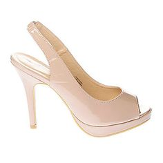 Nude A Dress Platform Sling Back - womens shoes & boots - Sale & Offers - BHS Evening Shoes, Boots For Sale, Shoe Boots, Peep Toe, Platform, Nude, My Style, Heels, Women