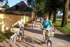SOUND TRACK | Cyclists on Fräulein Maria's Bicycle Tour