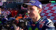 """MotoGP – Jorge Lorenzo: """"Hoje vamos poder celebrar a minha última vitória com a Yamaha"""""""