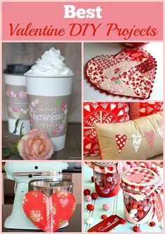 Some of the best DIY Valentine's Day crafts from around the internet.