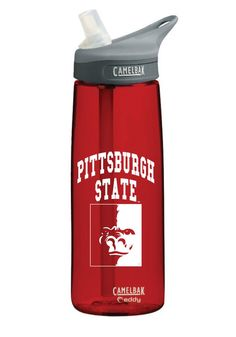 Pitt State Gorillas Red Camelbak Bottle  http://www.rallyhouse.com/shop/pitt-state-gorillas-pitt-state-gorillas-red-camelbak-bottle-1646848  $22.99