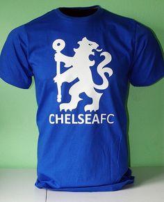 Chelsea FC Football Soccer T Shirt Jersey - Lion symbol