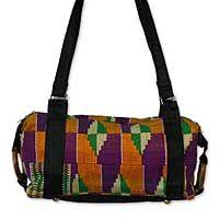 African textile bag