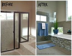 Turn an outdated bathroom into a spa-like paradise http://www.hometalk.com/l/n6K