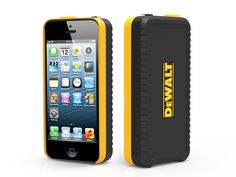 DeWalt iPhone 5 Case With Tape Measure Concept by Psychic Factory » Yanko Design