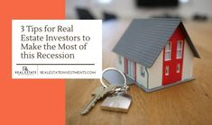 These are certainly challenging times for real estate investors. Here are three tips for them to boost their portfolio. Investment Firms, Investment Companies, Investment Property, Real Estate Investor, Investors, Lush, Place Card Holders, Key, Times