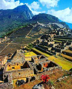 Machu Picchu, Peru http://www.viajesmachupicchu.com/