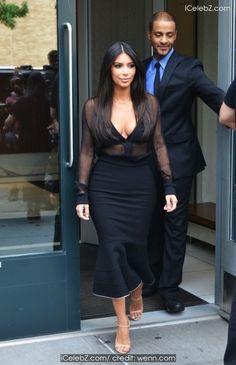 Kim Kardashian On her way to SiriusXM Radio http://icelebz.com/events/kim_kardashian_on_her_way_to_siriusxm_radio/photo1.html