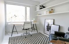 Oracle, Fox, Sunday, Sanctuary, White, Out, White, Interiors, industrial, office #interiors #homedecor