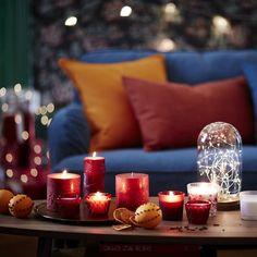 Bougies pour Noël 2016 avec IKEA  http://www.homelisty.com/ikea-noel-2016/