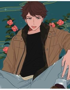 hat do you think about Oikawa? Oc Manga, Anime Manga, Anime Art, Anime Boys, Hot Anime Guys, Oikawa Tooru, Kageyama, Iwaoi, Haikyuu Fanart