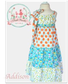 The Addison Dress | Sewing Pattern | YouCanMakeThis.com