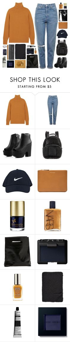 """""""YOU LOOK SO BEAUTIFUL IN THIS LIGHT -- TAG"""" by faded-pictures ❤ liked on Polyvore featuring Chloé, Topshop, Alexander Wang, NIKE, Comme des Garçons, Accessorize, NARS Cosmetics, Marie Turnor, Alicia Adams and Aesop"""