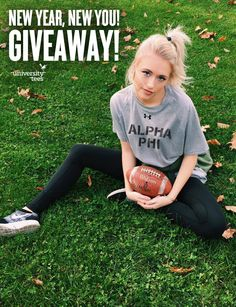 UTees is kicking off this new year by giving away FOUR surprise sorority fitness bundles! All you have to do is Follow us on Pinterest & re-pin this contest pin! Happy Pinning