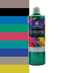 Chromatemp Pearlescent Artists' Tempera Paint - OrientalTrading.com