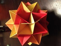Origami Origami And Kirigami, Origami Love, Paper Crafts Origami, Oragami, Origami Stars, Diy Origami, Origami Instructions, Origami Tutorial, Dragonfly Crafts