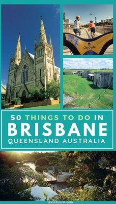 50 incredible things to do in Brisbane. The 450 m Goodwill Bridge connects South Bank to the Botanic Gardens and cycling across it is a fun way to enjoy being outdoors in Brisbane. Brisbane Queensland, Queensland Australia, Western Australia, Brisbane City, Perth, Fun Places To Go, The Places Youll Go, Places To Visit, Visit Australia