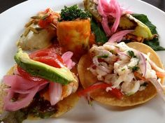 Salbutes and Tostadas!