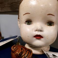 She was just another broken Doll, dreaming of a boy with glue......  Vintage dolls