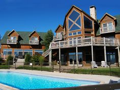 Under the Stars at Railey Mountain Lake Vacations, sleeps 26, pool table, hot tub, indoor and outdoor pool