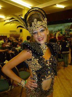 Disco Freestyle dance costume, under 14 Black & gold solo / slow | eBay