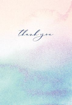 Rainbow Ombre - Thank You Card #greetingcards #printable #diy #thankyou #notes #thanks Sweet Love Quotes, Love Is Sweet, Thank You Notes, Thank You Cards, Printable Cards, Printables, Thank You Card Template, Text Messages, Tattoo Quotes