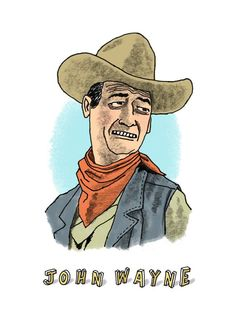 Is that you john wayne is this me