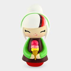 best friends momiji message doll from the MoMA store