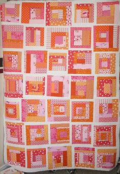 Sunset Serenade quilt. I do have lots of these colours...