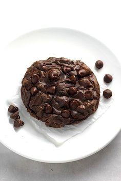 Soft Batch Double Chocolate Fudge Cookies