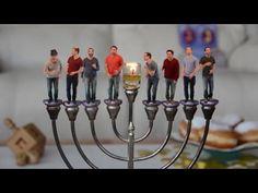 Kippalive - Al HaNisim כיפה-לייב על הניסים Hanukkah 2015 (1.59 min)