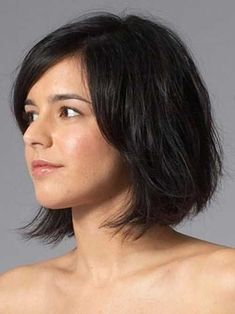 Visit for more Frisuren kinnlang Asymmetrische frisuren kinnlang The post Frisuren kinnlang Asymmetrische frisuren kinnlang appeared first on frisuren. Short Hairstyles For Thick Hair, Haircut For Thick Hair, Short Wavy Hair, Short Hair Styles Easy, Hair Styles 2014, Cool Hairstyles, Hairstyle Photos, Messy Hairstyle, Asymmetrical Hairstyles