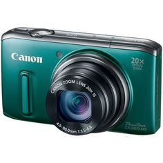Powered with megapixels high sensitivity CMOS sensor, Canon PowerShot camera packs GPS technology to automatically tag your photos with time and locations.