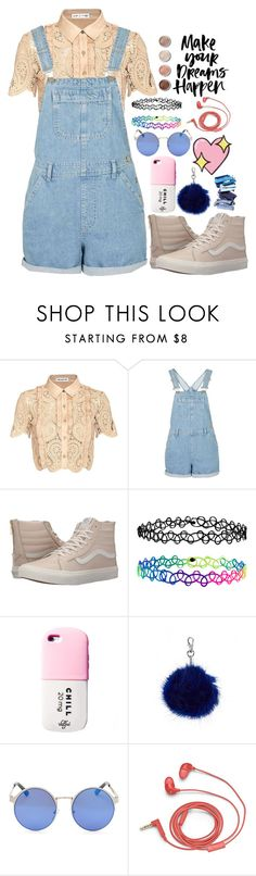 """""""Untitled #181"""" by izzystar77 ❤ liked on Polyvore featuring self-portrait, Vans, Accessorize, FOSSIL, Big Bud Press and Terre Mère"""