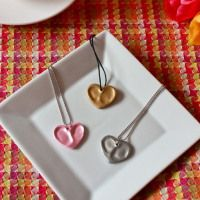 Heart Thumbprint Charms & DIY Gift Wrap - Mothers Day Ideas