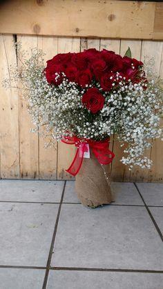 100 rosas bouquet