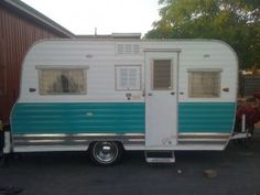 67 oasis Vintage Travel Trailers - Blue Oval Ranch Inc.