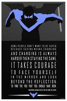 Dick Grayson (Night Wing) #quote