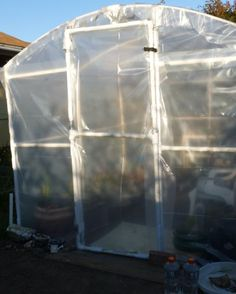 DIY PVC Greenhouse, Part 2